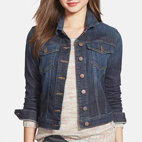 10 Best Denim Jackets for Women in 2017 - Classic Blue Jean