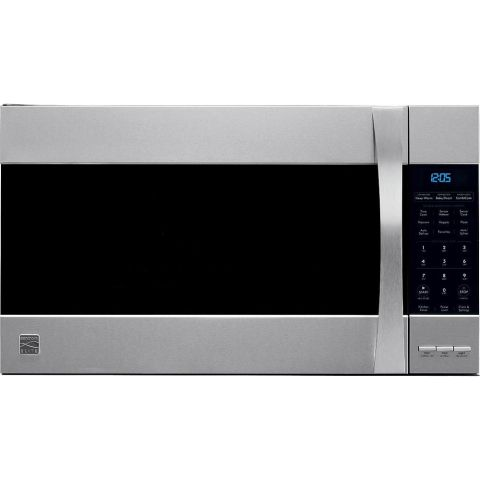 1 Kenmore Elite 80373 1.8 Cubic Foot 1,000 Watt Over The Range Convection  Microwave