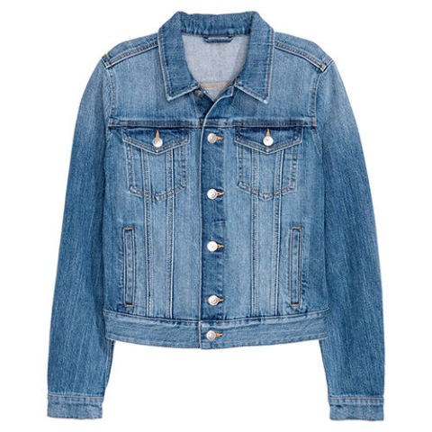 Classic Denim Jacket - Coat Nj