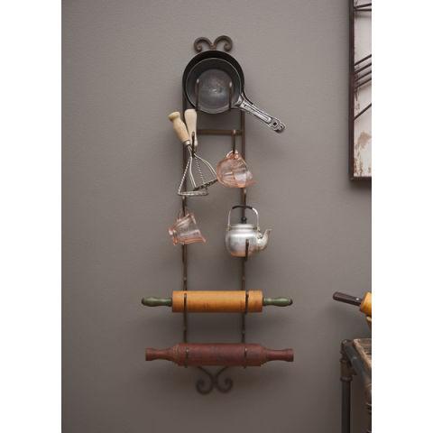 lark manor vallauris 6 bottle wall mounted wine rack