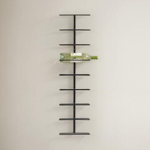 Wall Hanging Wine Rack 10 best wall mounted wine racks in 2017 - wall wine bottle racks