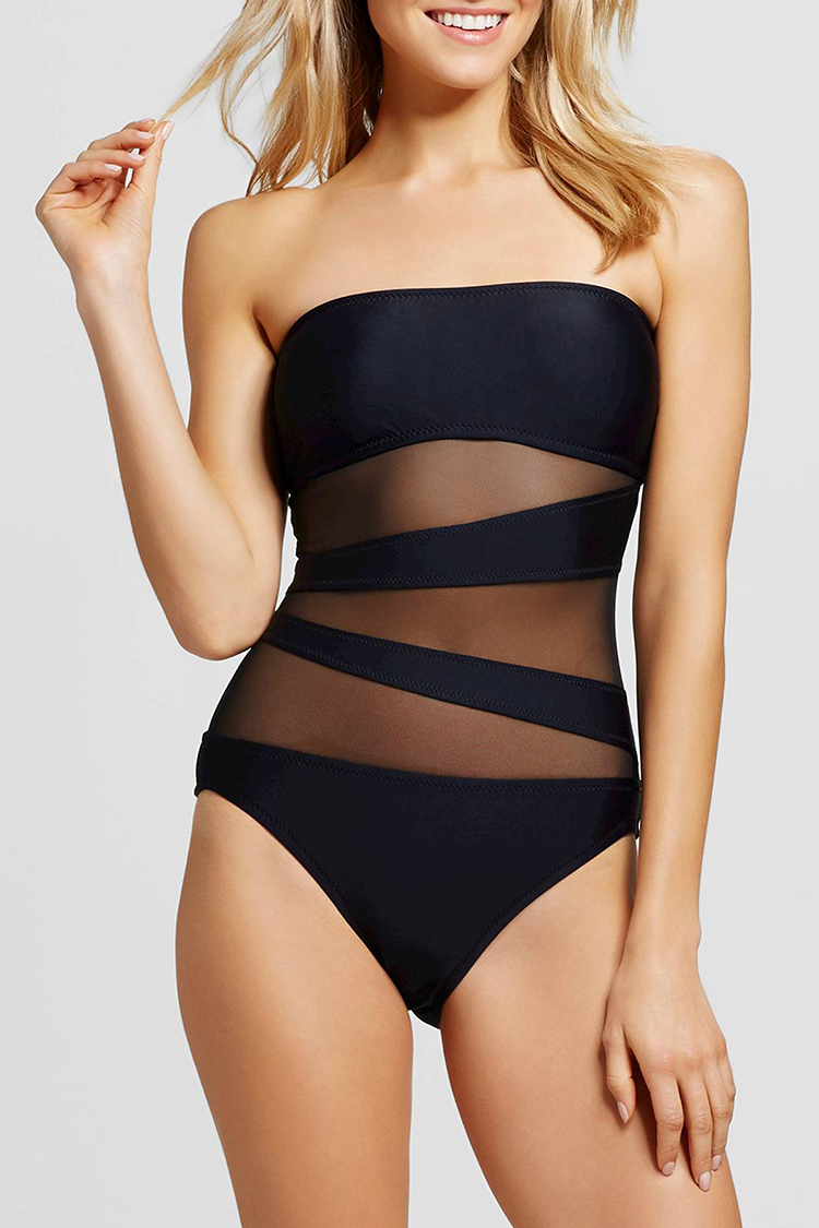 15 Best Black One Piece Swimsuits For 2018 One Piece