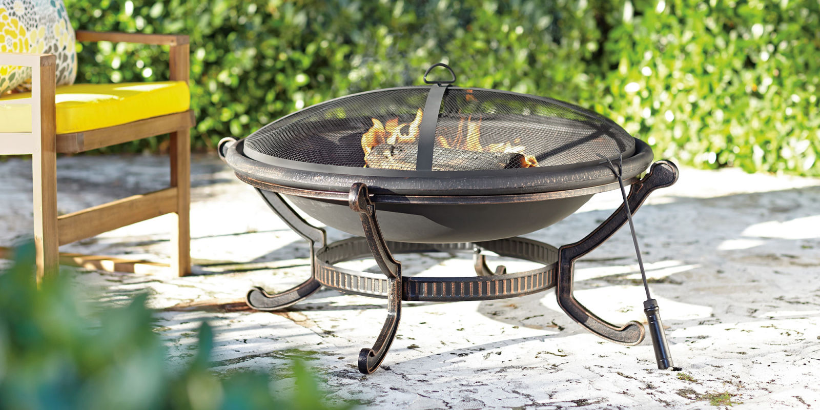 15 best outdoor fire pits for 2017 wood burning and propane fire