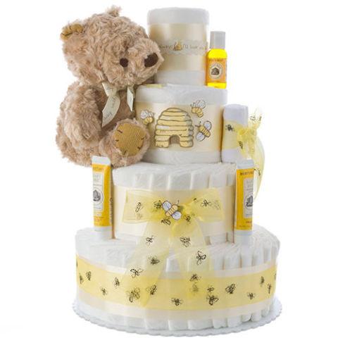 Burt S Bees Diaper Cake