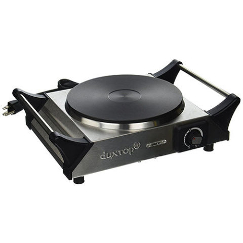 duxtop portable electric cast iron burner