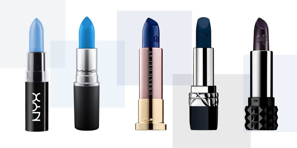 10 Best Blue Lipstick Shades 2017 - Blue Lipstick and Lip Gloss ...
