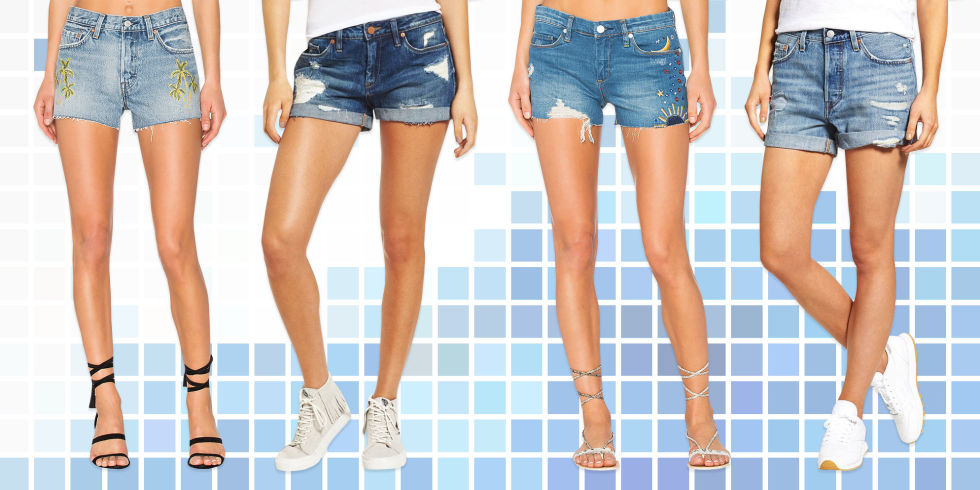 10 Best Denim Shorts for Women 2017 - Jean Shorts and Cutoffs for ...