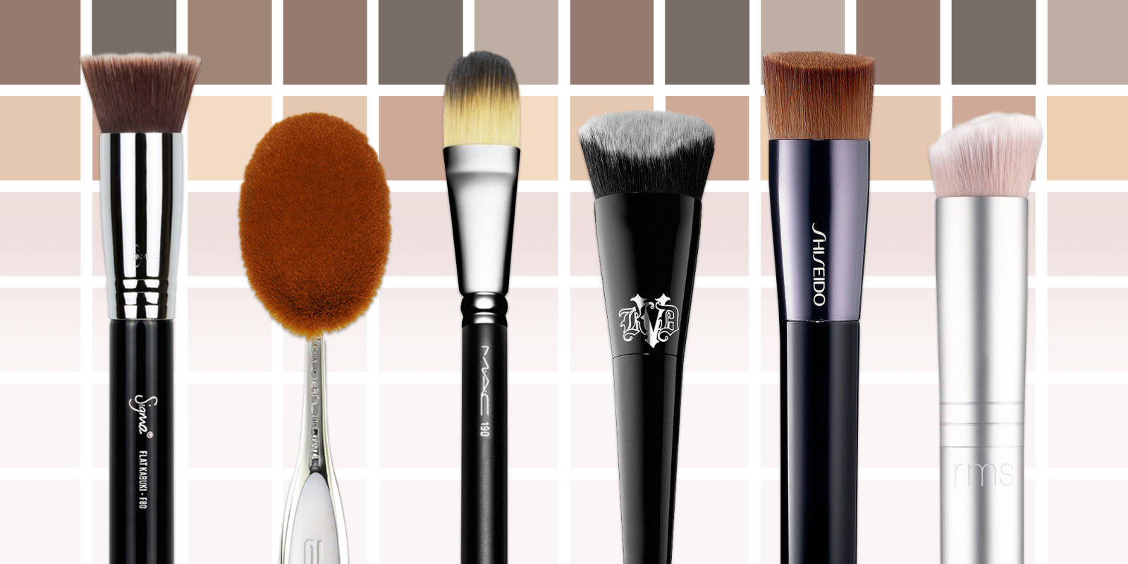 10 Best Foundation Brushes For 2017 Brushes For Liquid