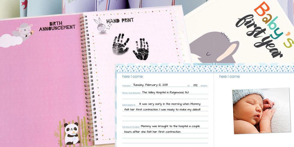 11 Best Baby Memory Books for 2017 - Cute Baby Memory Books and ...