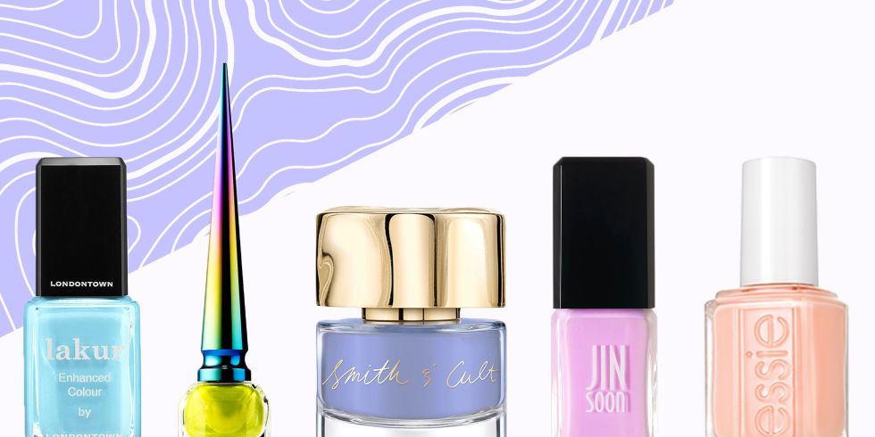 10 Best Summer Nail Colors in 2017 - Pastel Nail Polish Trends for ...
