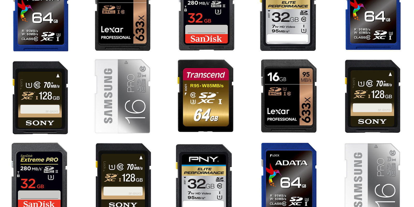 9 Best Sd Cards For 2018 Fastest Memory Cards With High