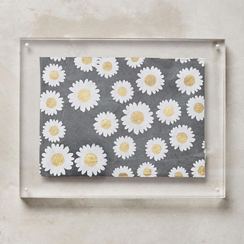 anthropologie acrylic hanging frame