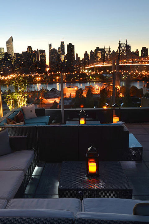 Z Hotel Long Island City Rooftop Lounge