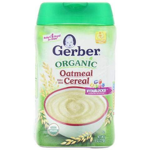 Baby cereals brands