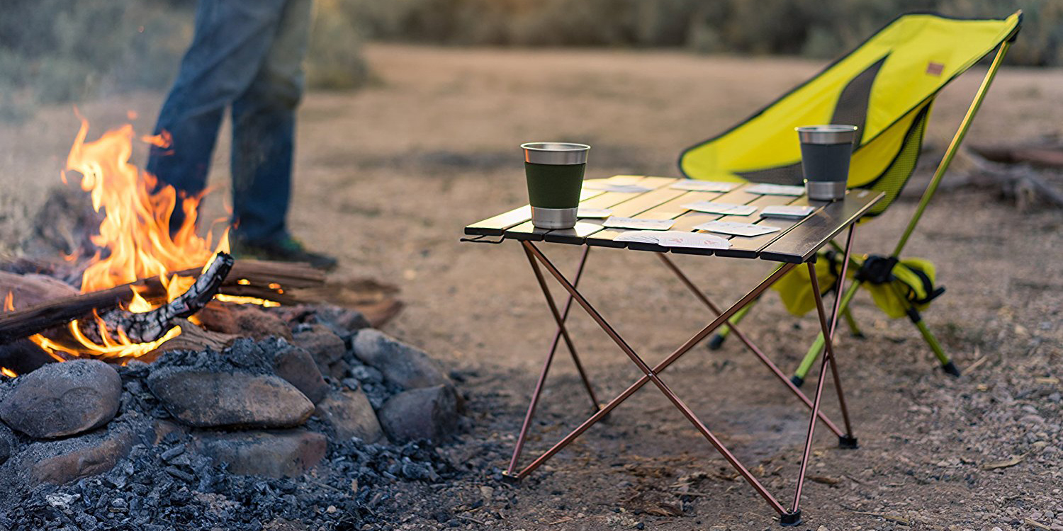 9 best camping tables for 2018 portable and folding for Table camping