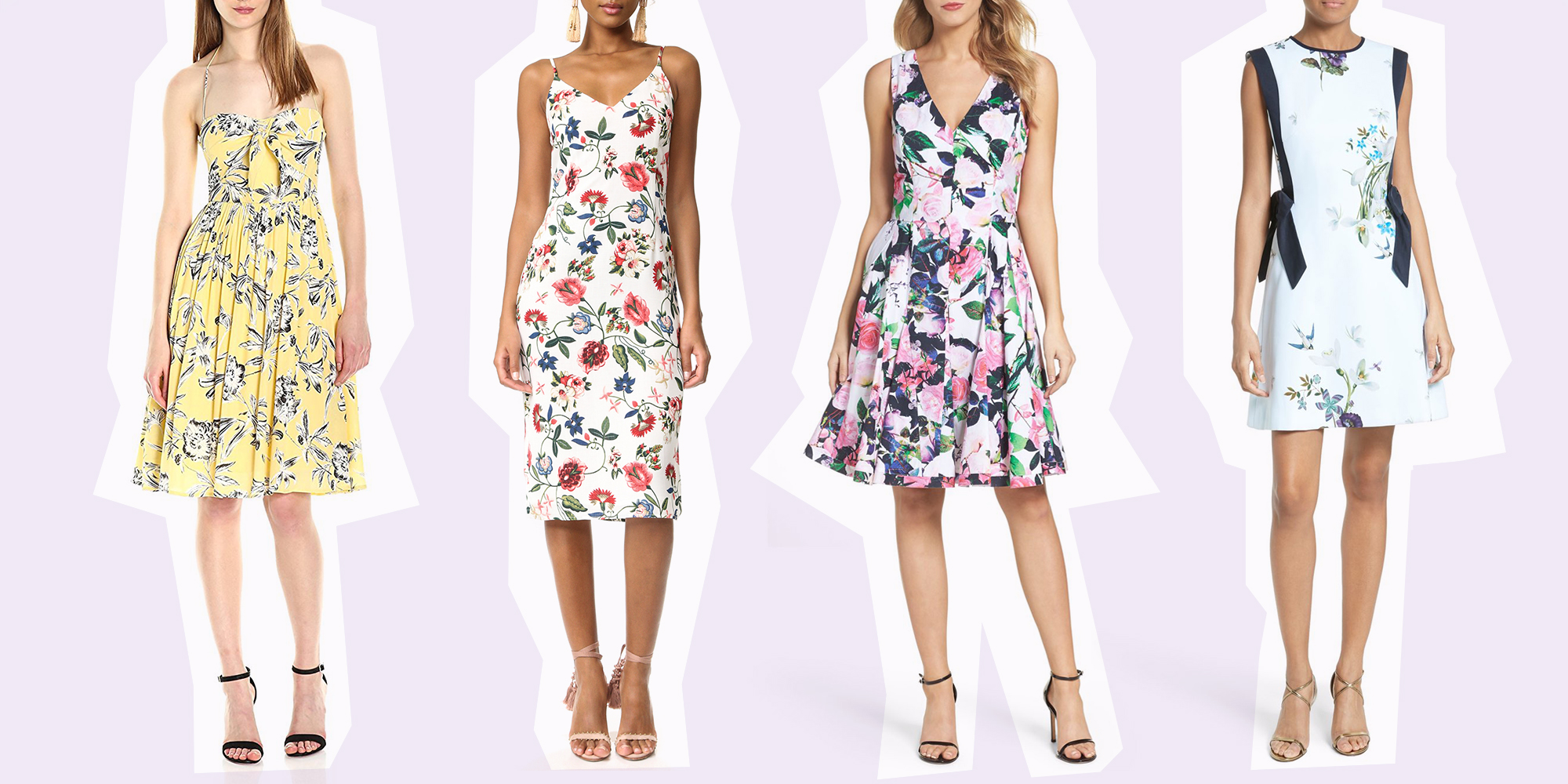 10 Best Floral Dresses For Kentucky Derby 2018 Floral