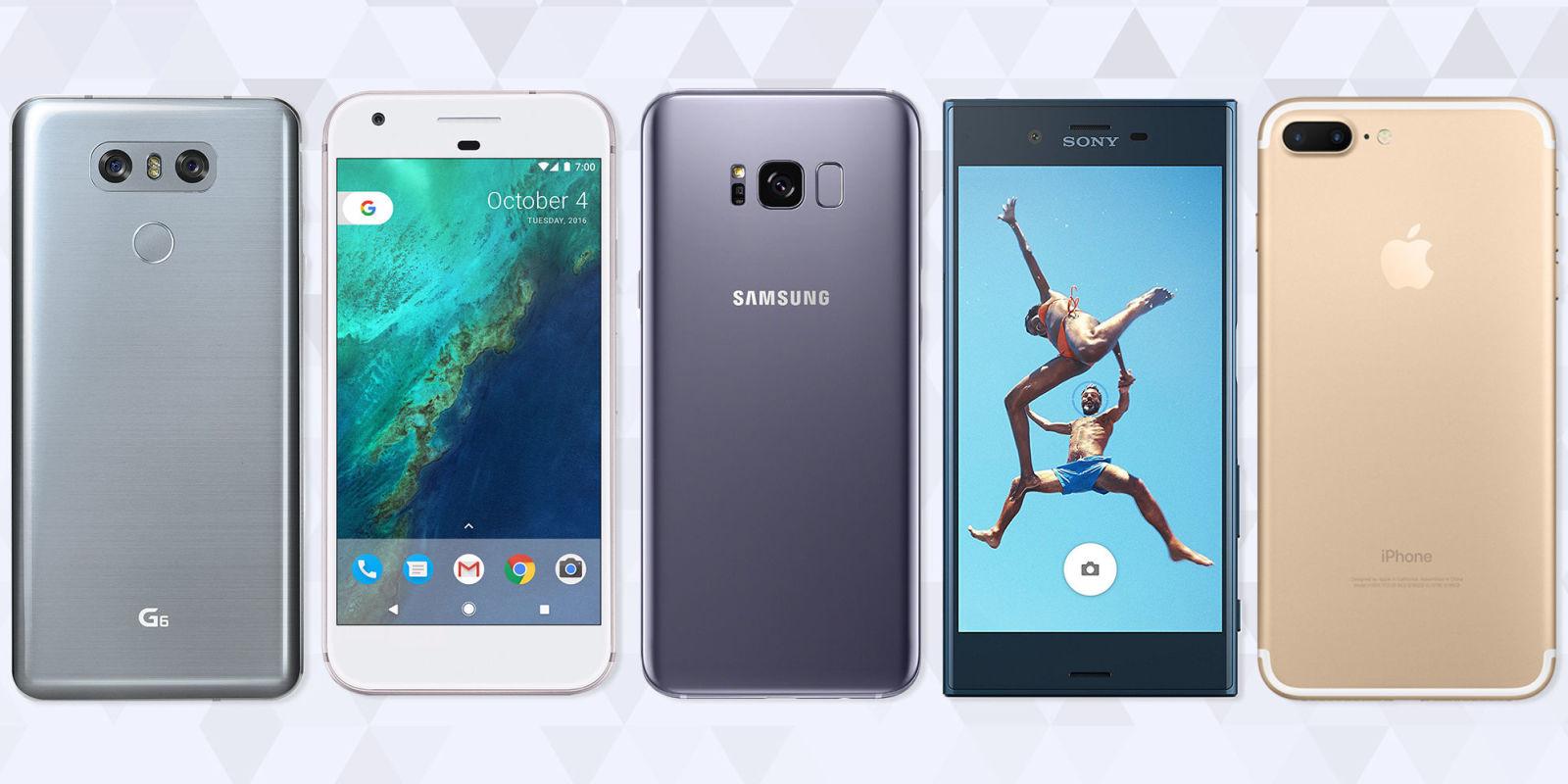 16 Best Smartphones in 2017 - Top Mobile Phones for iOS ...