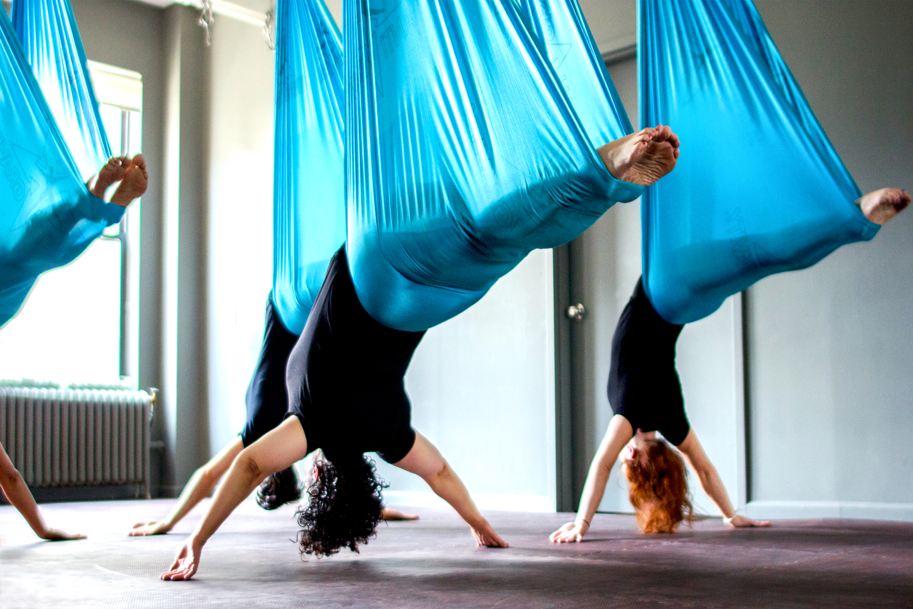 7 Best Aerial Yoga Studios In Nyc For 2018 Fun Aerial
