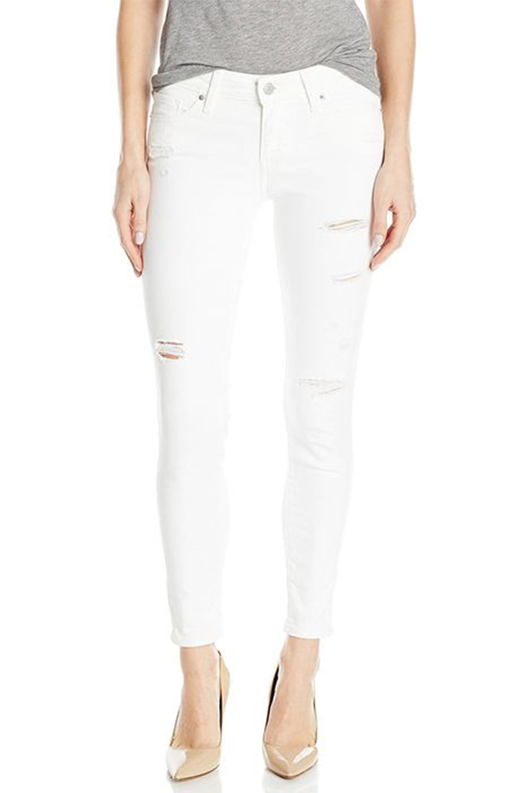 Skinny White Jeans Photo Album - Watch Out, There's a Clothes About