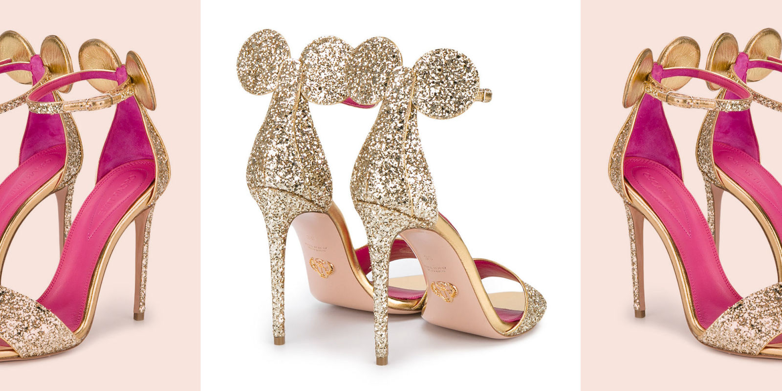 Minnie Mouse Heels From Oscar Tiye For 2018 Super Cute
