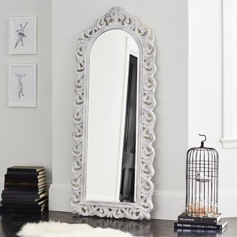 pbteen ornate floor mirror