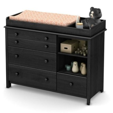 South Shore Little Smileys Changing Table With Removable Station