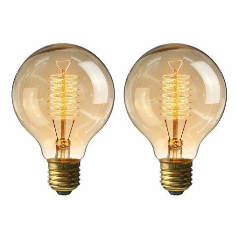 kingso vintage edison bulb 60w antique dimmable light bulbs