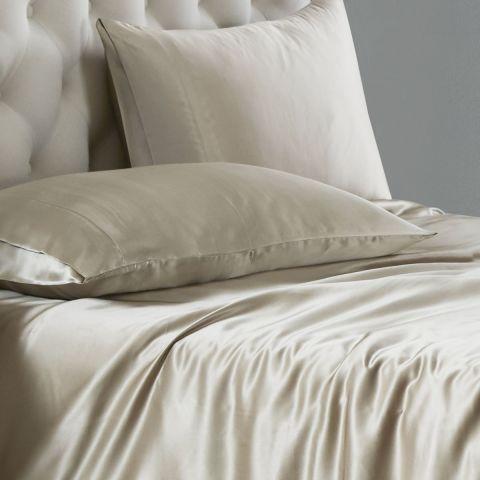 oosilk mulberry seamless deep pocket silk sheet set