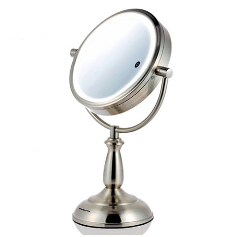 Ovente 8 5 Inch Smart Touch LED Lighted Mirror. 10 Best Lighted Makeup Mirrors in 2017   Makeup and Vanity Mirrors