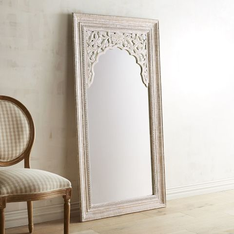 pier 1 imports penelope carved floor mirror