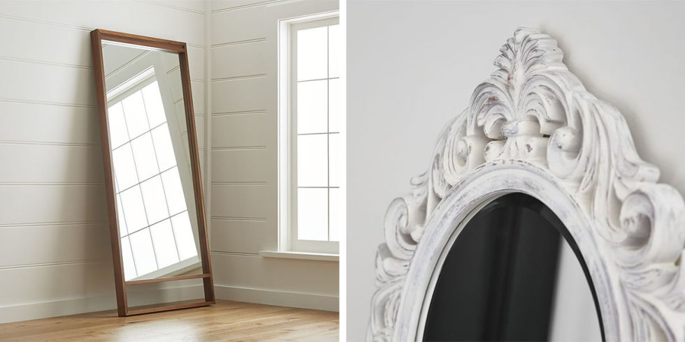 Wall Length Mirror 11 best full length mirrors in 2017 - chic standing and floor mirrors
