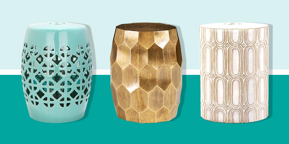 10 best garden stools in 2018 metal and ceramic garden for Best home decor items