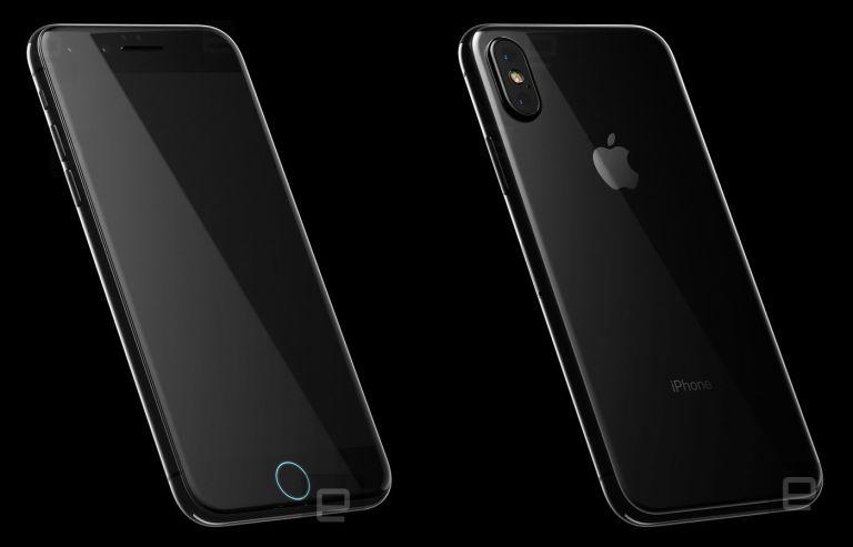 iPhone 8 rumored render