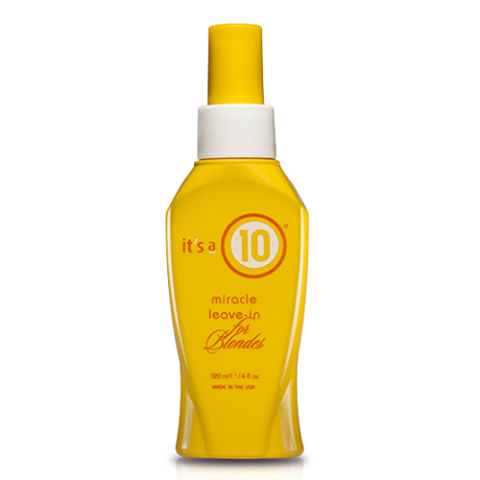 11 best leave in conditioners of 2017 leave in conditioner its a 10 miracle leave in treatment for blondes pmusecretfo Images
