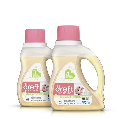 Dreft Pur-Touch Baby Liquid HE Laundry Detergent