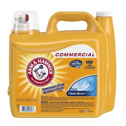 Arm & Hammer 2X Ultra Clean Burst Liquid Laundry Detergent