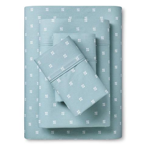 threshold organic cotton sheet set 300 thread count