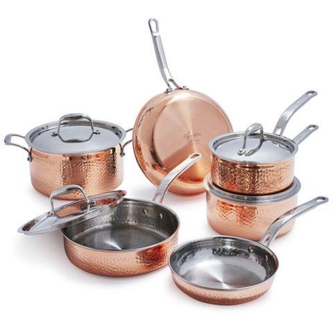 9 Best Copper Pans For 2018 Reviews For Copper Pan Sets