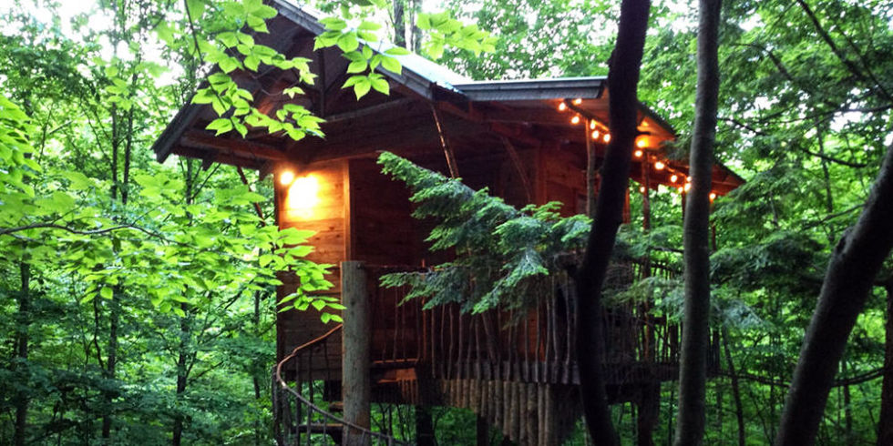 Insane Tree Houses 10 best treehouse hotels in 2017 - cool tree house vacations