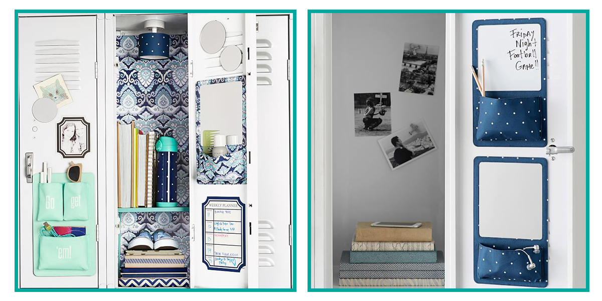 14 best locker decorations and organizers 2018 locker for Locker decorations you can make at home