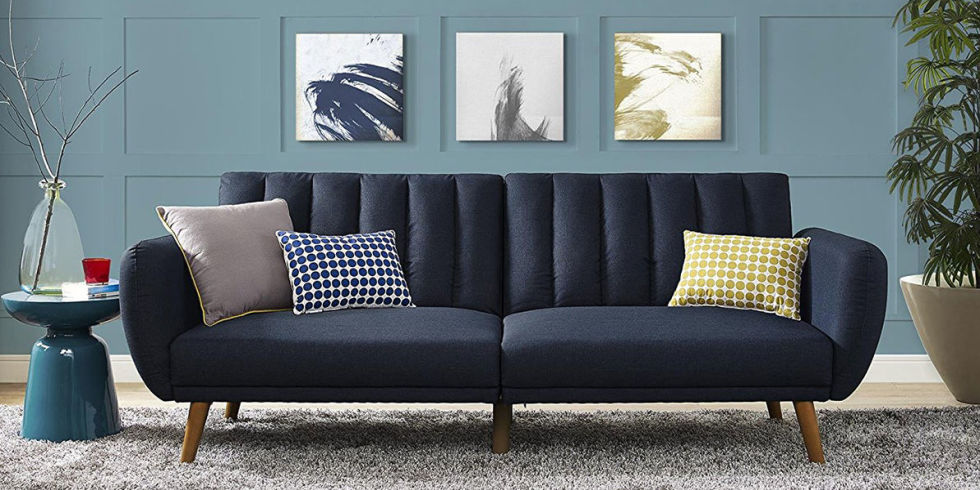 10 Best Futons and Sofa Beds 2017 Stylish Futons That Convert to