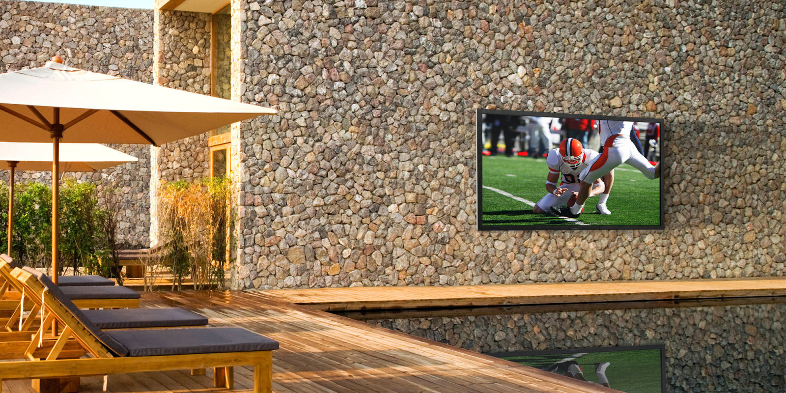 8 best outdoor tvs for your patio in 2017 outdoor televisions at
