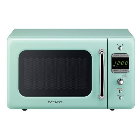 8 Daewoo Kor 7lrem 7 Cubic Foot 700 Watt Retro Microwave Oven