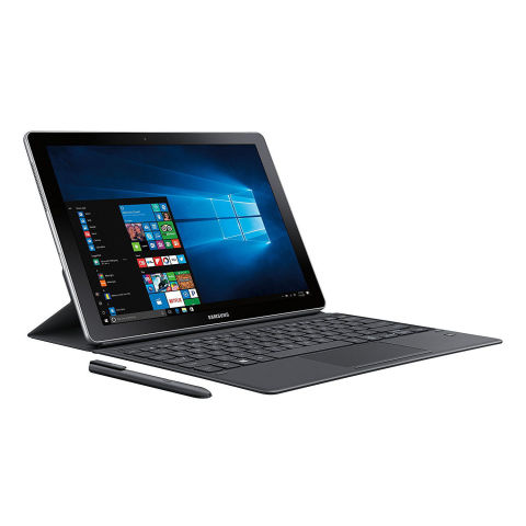 from $1,128 BUY NOW With Windows 10 and a powerful Intel Core i5 processor on board, the 12-inch Samsung Galaxy Book is a viable replacement for a laptop. Its 12-inch AMOLED display has HDR support, and it's one of the best tablets around. The Galaxy Book comes bundled with a keyboard cover and an S Pen stylus. The slate can also closely integrate with the tech giant's latest Galaxy smartphones via a feature dubbed Samsung Flow. More: Our Review of the 12-Inch Samsung Galaxy Book