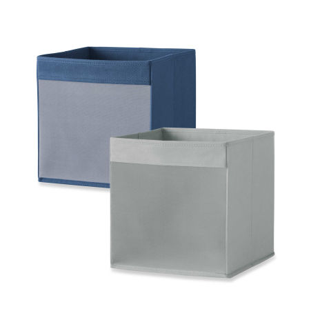 Real Simple Mesh Front Foldable Storage Bin