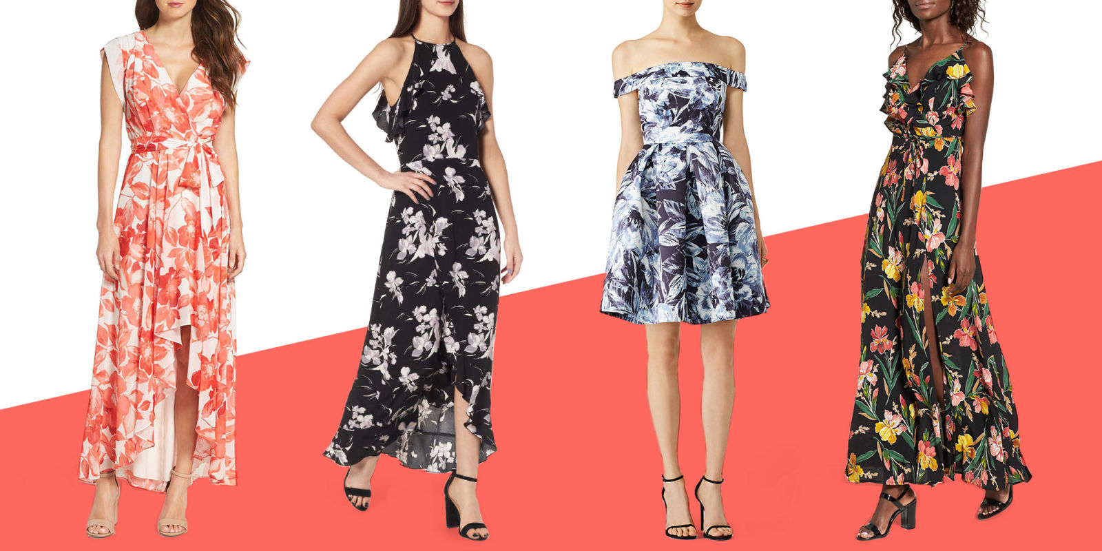 12 best dresses to wear to a wedding in fall 2017 for Best dressed wedding guest 2017