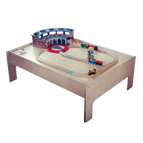Sodura Birch Wood Kids Train Table