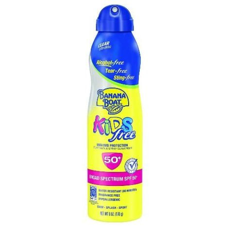 Banana Boat Ultramist Kids Tear Free Lotion SPF 50