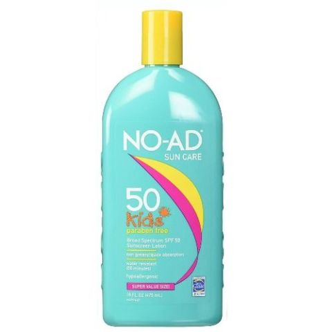 NO-AD Kids Sun Care Sunscreen Lotion SPF 50