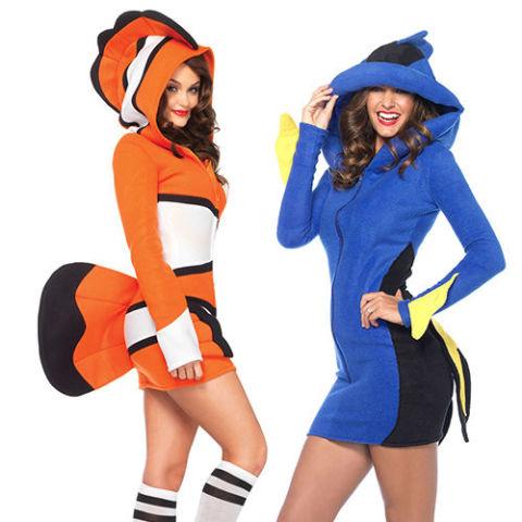finding nemo halloween costumes - 15 Best Couples Costumes For Halloween 2017 - Couples Halloween